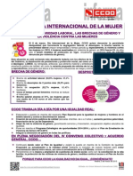 2019860-8 de Marzo Dia Internacional de La Mujer