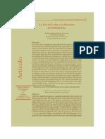 Urbizagastegui Ruben - La Ley de Lotka Y La Literatura de Bibliometria