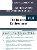 Topic 1 Understanding the Business System