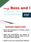 My Boss & i Leadership