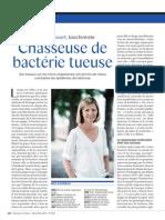 Pascale Cossart, biochimiste