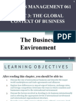 Topic 3 the Global Context of Business