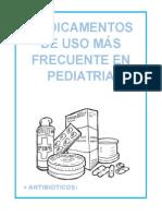 Medicamentos de Uso Más Frecuente en Pediatria