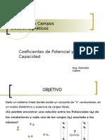 Coeficientes de Potencial y Capacidad