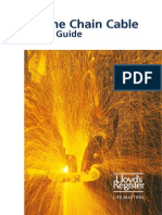 Marine Chain Cable Pocket Guide