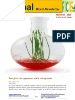 4th March,2015 Daily Global Rice E-Newsletter by Riceplus Magazine