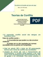 Lúcia da Costa Fereira - Teorias do Conflito