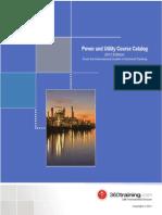 Power Utility Course Catalog
