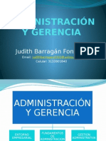Administracion y Gerencia