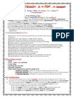 How to Teach a -Pdp- Reading Lesson (2)