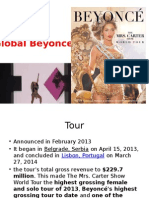 Beyonce Global and Representation