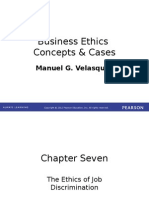 Business ethics concepts and cases 7th edition chapter 1 chapter 7 the ethics of job discrimination fandeluxe Image collections