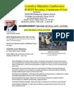 RJM Conference Flyer