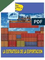 LA ESTRATEGIA DE LA EXPORTACION