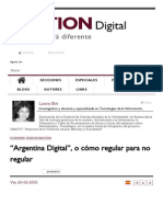 """Argentina Digital"", o Cómo Regular Para No Regular _ Bastion Digital Argentina"