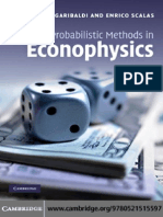 Ubaldo Garibaldi, Enrico Scalas-Finitary Probabilistic Methods in Econophysics (2010)