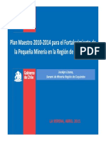 Pequeña Minería en La Región de Coquimbo 2015