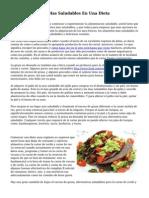 Eligio Las Carnes Mas Saludables En Una Dieta