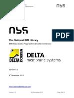 Nbl DeltaMembranes PolypryleBrthMbrn BIMObjectGuide 1.0