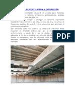 Sistema de Ventilación y Extracción