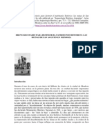 BREVE RECETARIO PARA DESTRUIR EL PATRIMONIO HISTORICO