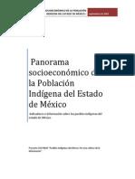Panorama Socioeconómico de la Población Indígena del Estado de México
