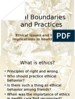 PP 6 Ethical Boundaries