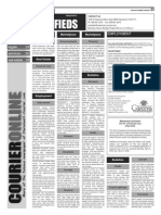 Claremont COURIER Classifieds 3-6-15