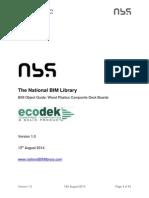 Nbl Ecodek WoodPlasticsCompositeDeckBoards BIMObjectGuide 1.0
