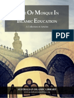 Role of Mosque in Islamic Education
