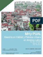 Plan de EstudiosHabitatPobreza