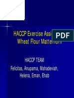 HACCP Exercise Assignment1