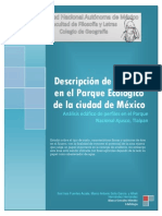 Descripcion de Perfiles en El Parque Ecologico de La Ciudad de Mèxico