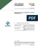 Gtc Iso21500 Resumen