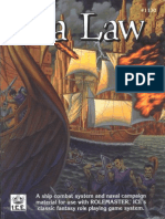 Rolemaster 2nd - Sea Law