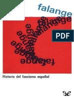 Falange, historia del fascismo español de Stanley G. Payne