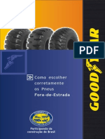 Manual - Goodyear - Pneu Fora de Estrada