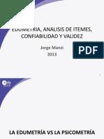 Edumetría, Análisis Itemes (JM)