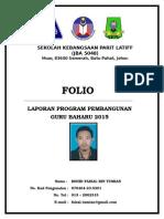 Format Kulit Luar Fail Folio PPGB
