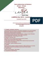 LAMPEA-Doc 2015 – numéro 7 / Vendredi 6 mars 2015