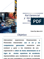 Charla Rol Gerencial