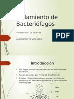 Exposicion Aislamiento de Fagos