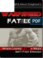 Warpspeed Fat Loss Alwyn Cosgrove