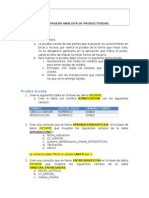 Prueba Excel y Access