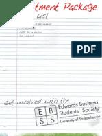 EBSS Recruitment Package 2010 WEB