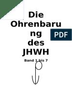 Buch 0 a Die Ohrenbarung Des JHWH Vorwort