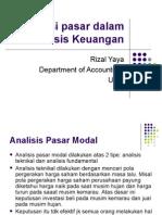 Informasi Pasar Dalam Analisis Keuangan