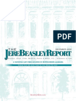 The Jere Beasley Report Dec. 2005