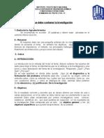 Estructura de La Tesis 31 Enero 2014