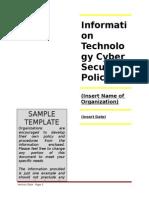 Cyber SOSSamplePolicy